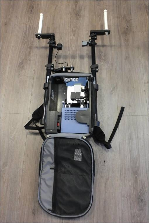 NetProbe data collection portable trolley