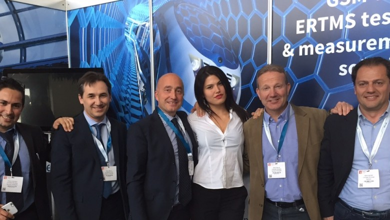 Comtest Wireless at SmartRail Europe 2015
