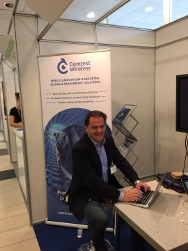 Carlo Ughetti, Comtest Wireless at Innorail 2015