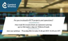 Comtest Wireless ETCS L2 webinar with RFI
