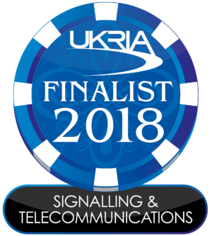 Comtest Wireless shortlisted for UKRIA 2018 Signalling Telecomms award