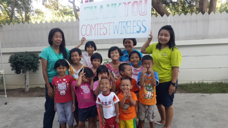 Comtest Wireless supports Take care kids 2017